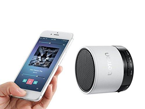 Betron KBS08 Wireless Portable Travel Bluetooth Speaker White