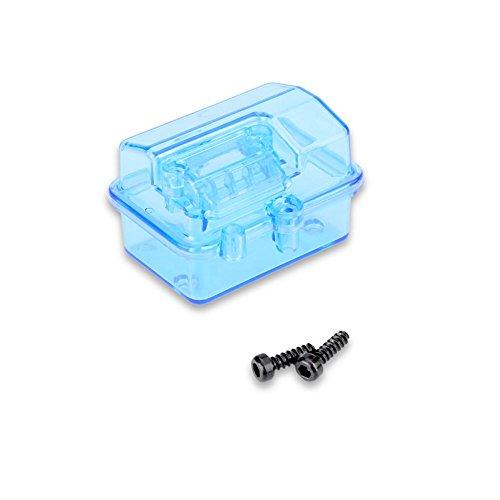 Dilwe RC Wasserdichte Empfänger Box für 1/10 RC Fernbedienung Auto Schrägspur Traxxas Huanqi727