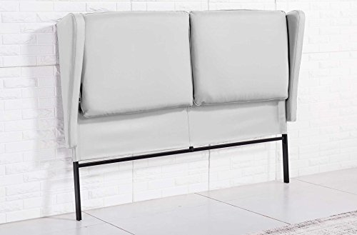 Cabecero orejero para dormitorio modelo PLAZA color blanco – Sedutahome