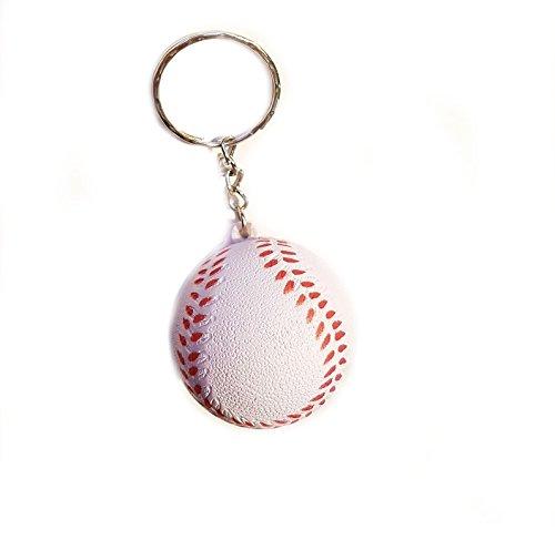 Familienkalender Baseball Ball Knautsch Schlüsselanhänger | Geschenk für Männer | Kinder | Sport | NBL | Ballsport | Spielzeug