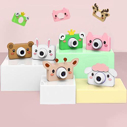 Great Deal! BeesClover Children Camera Cute Cartoon Digital Small Camera Gift Blue Bunny 16G