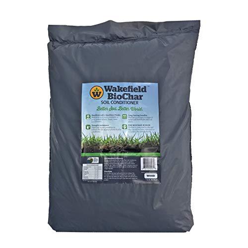 Wakefield Biochar Soil Conditioner - Premium - 1 Cu/Ft Bag...
