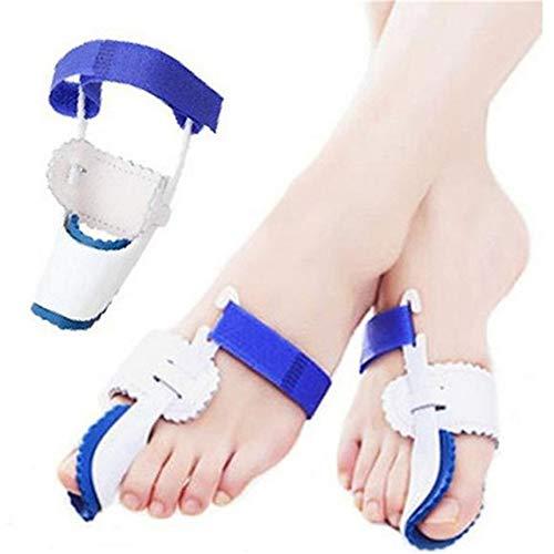 8PCS/Set Hallux Valgus Corrector Alignment Toe Separator Metatarsal Splint Orthotics Pain Relief Foot Care Tool