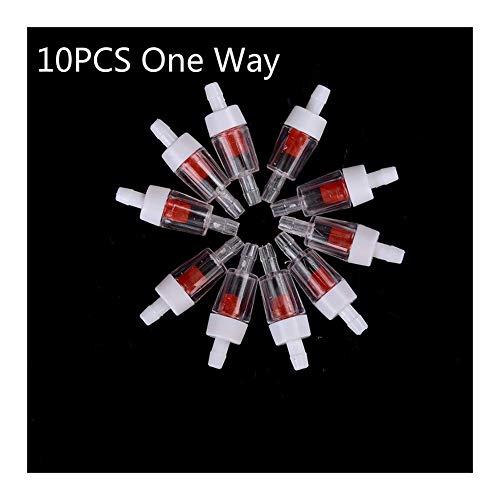 Wgd FA 10PCS Plastikeinwegrückschlagventil for Aquariumluftpumpen
