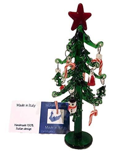 albero di Natale vetro murano