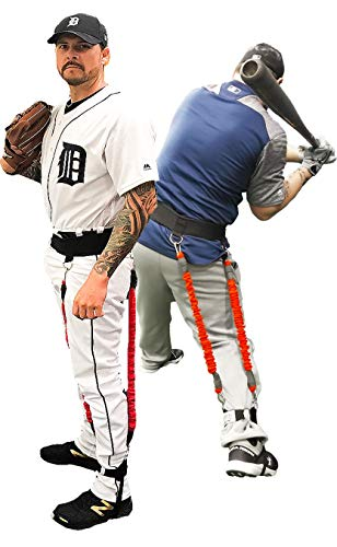 BIG LEAGUE EDGE VPX Baseball Training Harness | Adds 4-6MPH Velocity & Power Quickly | Improves Swing, Batting, & Throwing Mechanics | for Hitters, Pitchers, & Catchers | Youth to Pro