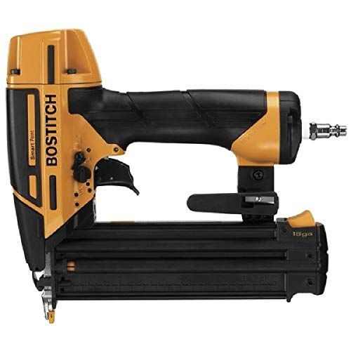 BOSTITCH Nail Gun, Brad Nailer, Smart Point, 18GA...