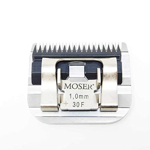 Moser Max 45 + Class 45 Edelstahl - Wechselschneidsatz, 1mm. Passend für die Modelle: Moser 1245, 1225, 1221, 1247, 1250