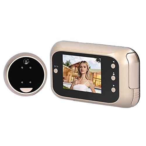 La cámara de seguridad de la puerta, 2IR llevó la tarjeta de memoria elegante del timbre de la noche infrarroja para la seguridad en el hogar