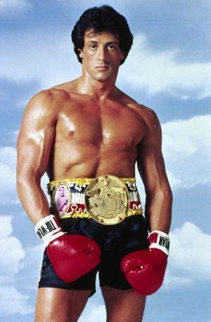 Rocky 3 III – Sylvester Stallone – US Textless Imported Movie Wall Poster Print - 30CM X 43CM Balboa