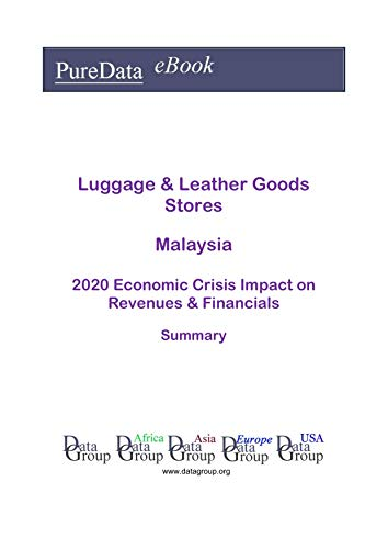 Luggage & Leather Goods Stores Malaysia Summary: 2020 Economic Crisis Impact on Revenues & Financials