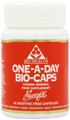 Bio-Health Multivitamins and Minerals - Pack of 60 Vegetarian Capsules
