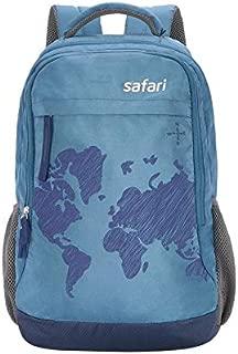 Safari WORLDMAP Polyester 35 Ltrs Blue Laptop Backpack (WorldMap)