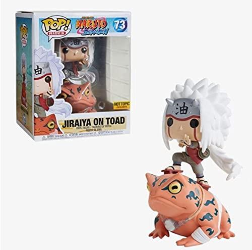 Anime Naruto Pop Figuras De Vinilo Jiraiya # 73 Figura De Acción En Caja Modelo Muñecas Juguetes...