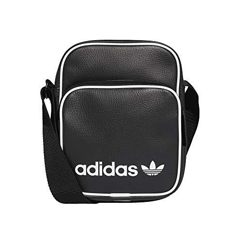 Adidas Vintage Mini Bag - Bolso bandolera, color Negro, talla black