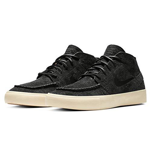 Nike Herren Zoom Janoski Mid Crafted Hohe Sneaker, Schwarz (schwarz braun schwarz braun), 43 EU