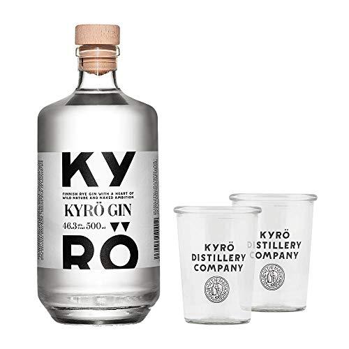 Kyrö Napue Rye - Rggen - Gin (1 x 0,5l) + 2 Gin Tonic Gläser
