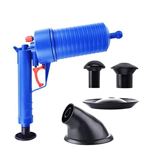 El mejor desatascador de fregadero - desatascador para fregadero de cocina, herramienta de dragado de alta presión, potente desatascador manual de alta presión para cocina