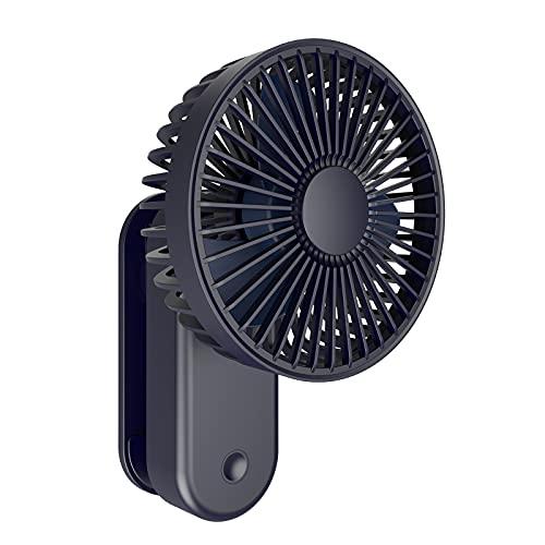 Aitsite Ventilador USB con Clip Ventilador Portatil de Sobremesa,Mini Ventilador 4000mAh Ventilador Portátil Recargable con Carga USB USB Fan con 3 Velocidades Ajustable para Oficina Hogar