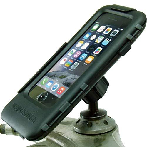 Buybits 12mm Moto Manubrio Supporto & Duro Cover Rigida per IPHONE 7 (4.7 ') Adatto a Kawasaki & Honda Blackbird