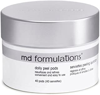 MD Formulations Daily Peel Pads, 40 Count