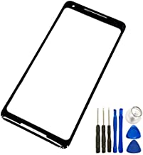 1PCS Outer Panel Lens For Google Pixel 2 XL Front Glass Lens Touch Screen Outer Panel Replacement Part+Tools