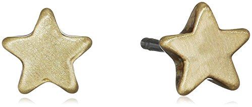 Pilgrim Pendientes de botón Mujer chapado en oro - 611712053