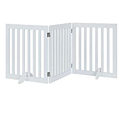 unipaws Freestanding Wooden Dog Gate
