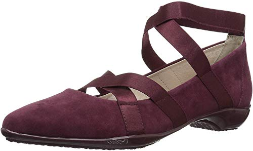 Top 10 best selling list for burgundy flat shoes