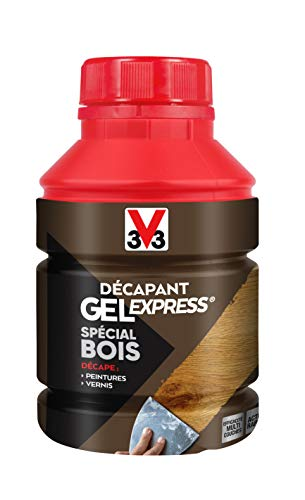 V33 Décapant gel express® bois 0,25L