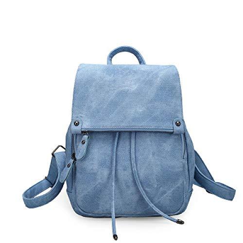 Backpack Women's Bag Korean Bucket Bag Retro Versatile Travel Bag