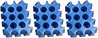Der SL EISBLOCK ist geeignet zum Kühlen von einem Getränkekasten. Aufgrund seiner kompakten Maße benötigt die Eisblockform nur wenig Platz in der Gefriertruhe oder dem Gefrierfach. Wenn der Block komplett durchgefroren ist, einfach aus der Form entne...