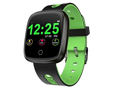 Cloodut - Reloj Inteligente con podómetro, análisis de sueño, notificaciones de Facebook, Compatible con Todos los teléfonos móviles Android y iOS (función Parcial)