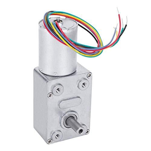 Motor de engranajes, motor de reducción de velocidad, pequeños electrodomésticos de 12V Jgy-2430 para robots(160rpm)