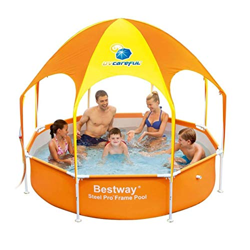 H2OGO! Splash-in-Shade Play Pool Orange