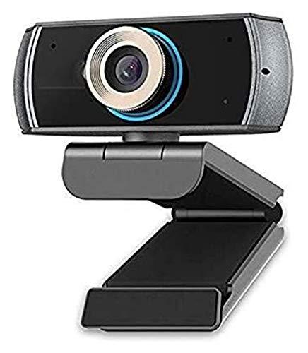 Videokonferenz Webcam, HD 1080p Desktop-Computer-Laptop-USB-Live-Schönheits-Gesichts-Web-Kamera, Eingebaute Dual-Geräuschreduzierung H.264 Glatte Bildqualität Geeignet Für Zuhause, Compu
