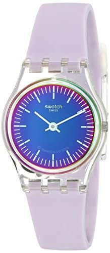 Swatch Reloj Analógico para Mujer de Cuarzo con Correa en Silicona LK390