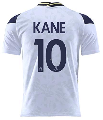 PLUY 2020-2021 Season Soccer Kane #10 Mens Home Jersey T-Shirts Color White Size M