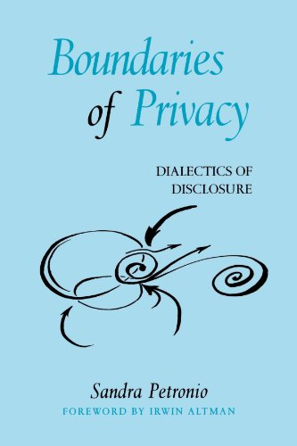 Compare Textbook Prices for Boundaries of Privacy: Dialectics of Disclosure Suny Series in Communication Studies  ISBN 9780791455166 by Petronio, Sandra