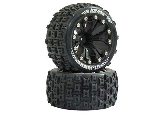 Jamara 052869 - Reifen und Felgen 1:10 ST-Jumbo 1/2OS, Louise Verschiedene Spielwaren, 12 mm