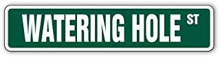 SignMission Watering Hole Street bar Tavern tap Alcoholic Signs   Indoor/Outdoor   14