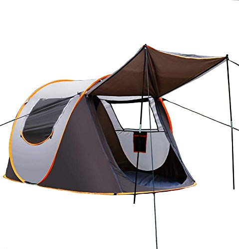 Lianqi Camping Tent,Family Pop Up Tent, Waterproof Dome Tent, Easy Setup for Camping Hiking and Outdoor, Portable with Carry Bag