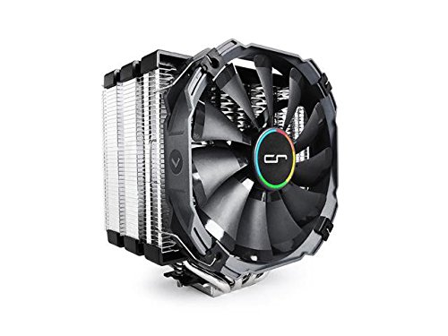 Cryorig Micocr-H5-Ultimat – Ventola per CPU Intel, 76 Cfm, 19~23 Dba, 700~1300 Rpm, colore: nero