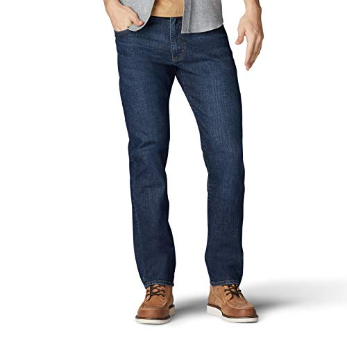Lee Men's Performance Series Extreme Motion Straight Fit Tapered Leg Jean, Boston, 32W x 30L