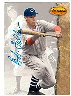 Bob Feller autographed Baseball Card (Cleveland Indians) 1994 Ted Williams Company #25 - Autographed Baseball Cards