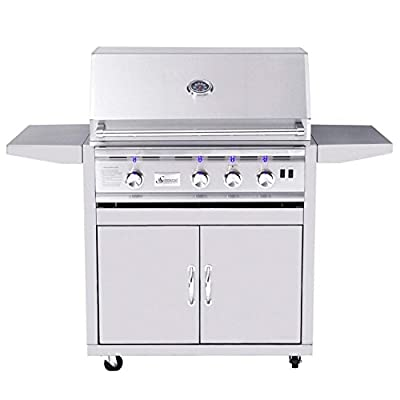 Summerset TRL Series Gas Grill On Cart, 32-Inch, Propane