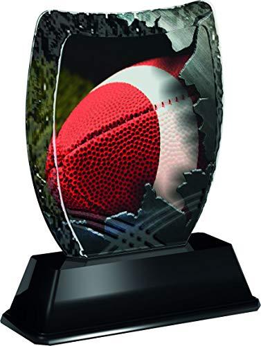 Trophy Monster Iceberg - Plato para trofeos y Ligas de fútbol Americano, Hecho de acrílico Impreso (3 tamaños)