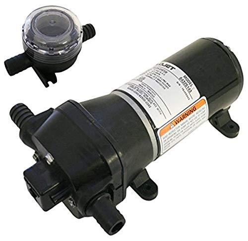 Flojet 04325043A Heavy Duty Automatic Deck Washdown Pump, 4.5 GPM, 40 PSI, 115 Volt, .5 Amp