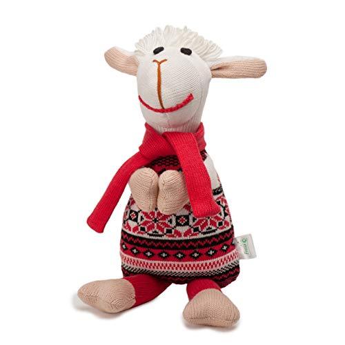 Freia 11F188 Kuscheltier Schaf Billy handgemacht in Europa 30 cm