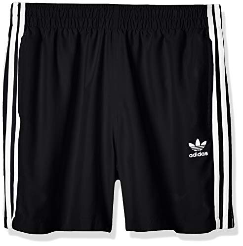 adidas Herren 3 Stripe Swims Swimsuit, Black, L